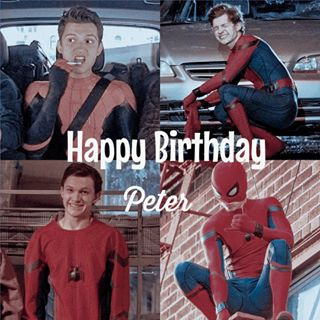 happy birthday to Peter Parker